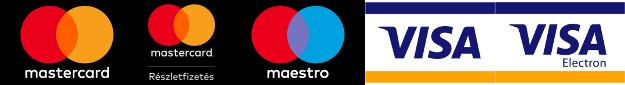 MasterCard, Maestro, Visa, Visa Electron