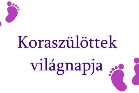 Koraszülöttek napja a pécsi Szülészeti és Nőgyógyászati Klinikán
