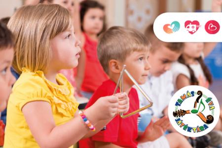 Zeneterápia óvodás korú gyermekek számára
