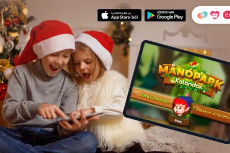 Manópark kalandok - új interaktív fejlesztő játék 5-7 éveseknek